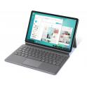 Capa Teclado Samsung Galaxy Tab S6 Keyboard Book Cover Cinza
