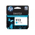 Tinteiro 912 Cyan Original HP