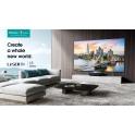 """Laser TV Hisense 4K Smart 100"""" HDMI/RJ45/USB"""