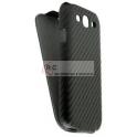 Bolsa Flip Cover para Samsung GT-I9082 Preta