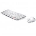 Teclado Asus + Rato W3000 2.4G 10PCS GIFT - Branco