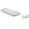 Teclado + Rato W3000 2.4G Asus - Branco