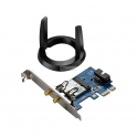 Placa de Rede Dual-Band Wireless-AC1200 Bluetooth 4.0 PCI-E Asus