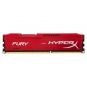 Memória RAM Kingston DDR3 HyperX 4GB 1600MHz CL10 FURY Red Series