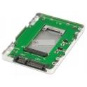 "Adaptador 2.5"" SATA (7mm) para mSATA SSD"