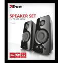 conjunto de colunas TYtan 2.0 speaker ser bluetooh