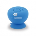 Colunas Wireless Waterproof Suction Speaker Blue Conceptronic
