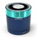 Colunas Portable Bluetooth 3.0 Travel Stereo Speaker - Azul Conceptronic