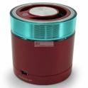 Colunas Portable Bluetooth 3.0 Travel Stereo Speaker - Vermelho Conceptronic