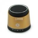 Colunas Portable Bluetooth Car Speakerphone - Golden Conceptronic