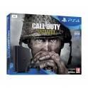 PlayStation 4 Slim 1TB + Jogo Call of Duty WWII