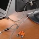 MicroSaver - Cadeados com chave para portatil - Cadeado duplo