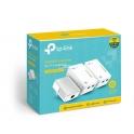 AV500 Powerline Universal Wi-Fi Range Extender, 2 Ethernet Ports, Network Kit TL-WPA4220T KIT