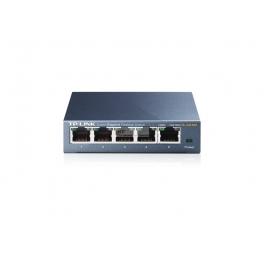 Switch de mesa TP-Link 5 portas Gigabit Metal Case-TL-SG105