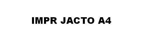 Impressoras Jacto de Tinta A4