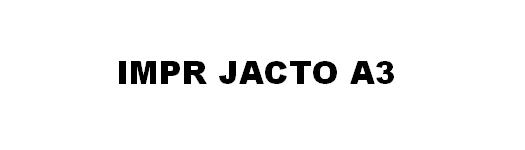 Impressoras Jacto de Tinta A3