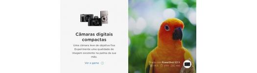 Câmaras Fotográficas Digitais Compactas