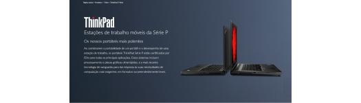 Portáteis Serie Thinkpad P Lenovo